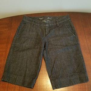 The Limited Bermuda Denim Shorts